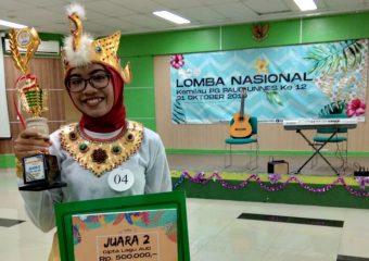 Juara 2 Lomba Cipta Lagu Anak Nasional